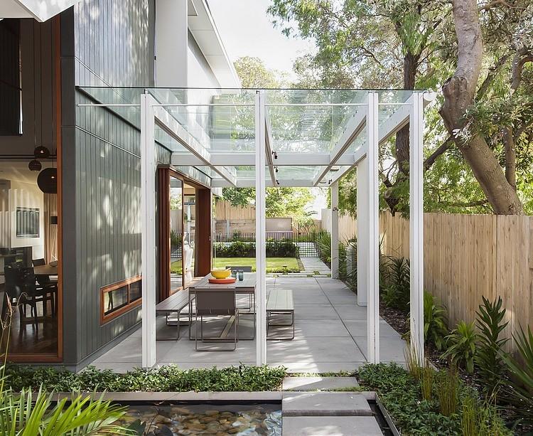 Modern Loft Island house Australia (2)