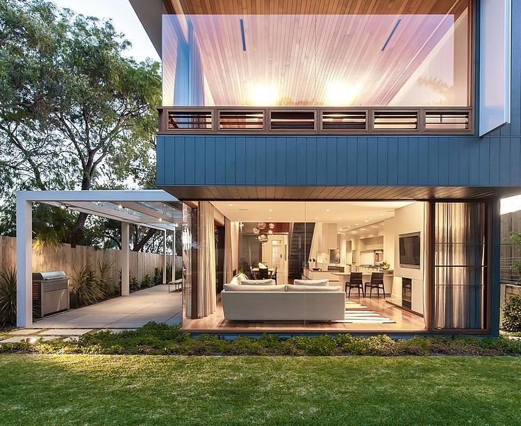 Modern Loft Island house Australia (3)