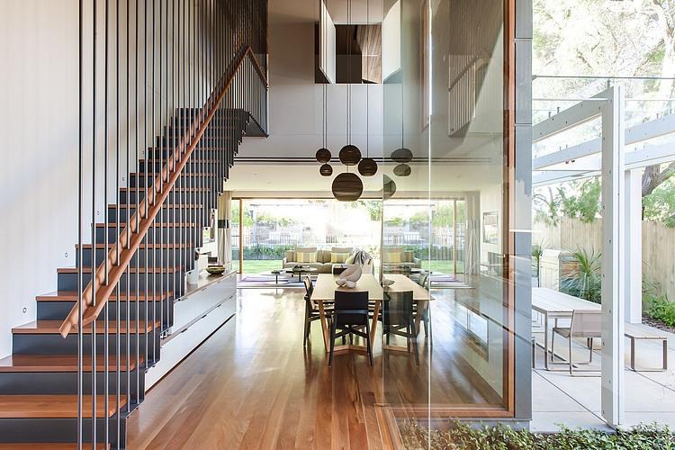 Modern Loft Island house Australia (5)