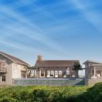 บ้านหลังใหญ่สไตล์คันทรี โทนสีอ่อนเน้นความนุ่มนวล สงบเงียบแถบริมทะเล