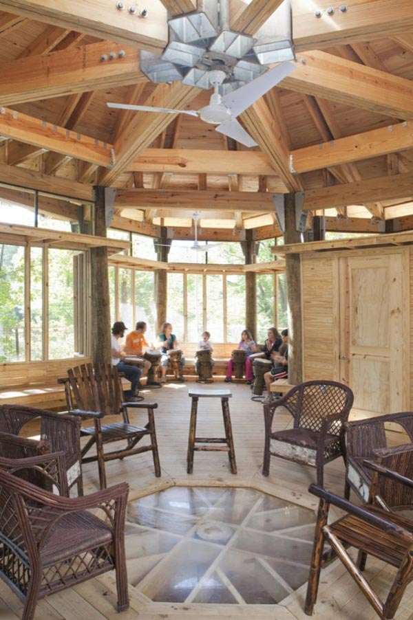 Timber Lakefront Treehouse (5)