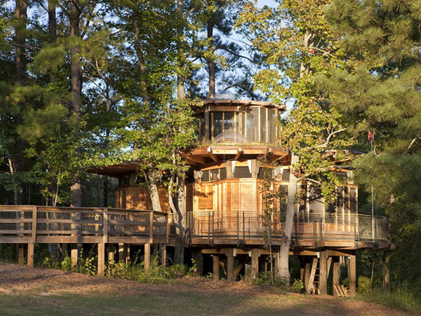 Timber Lakefront Treehouse (9)