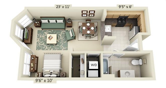 apartment-condo floor plan (13)