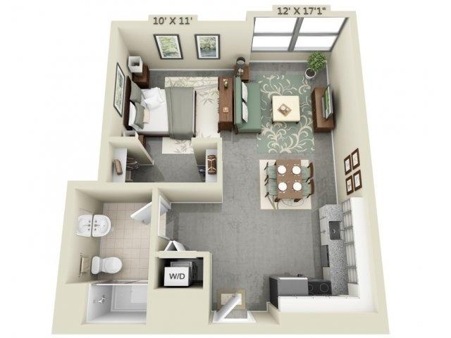 apartment-condo floor plan (14)