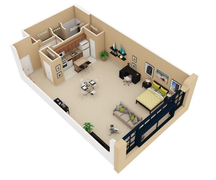 apartment-condo floor plan (16)