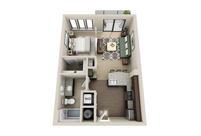 apartment-condo floor plan (18)