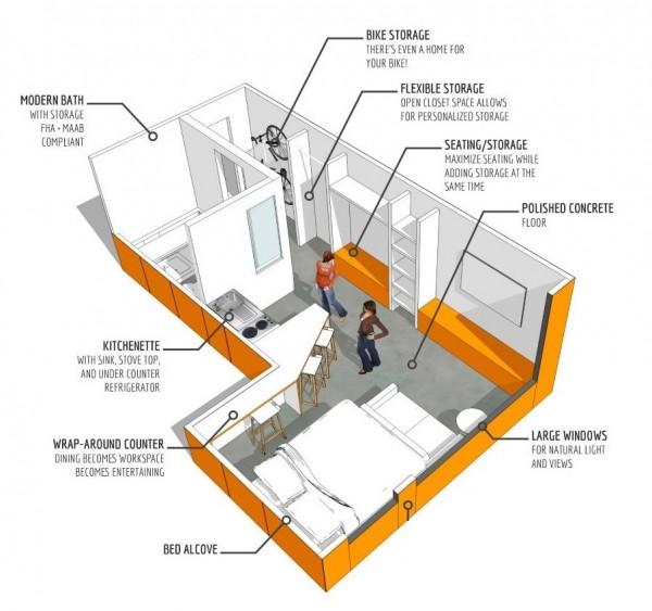 apartment-condo floor plan (2)
