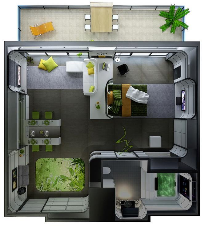 apartment-condo floor plan (21)