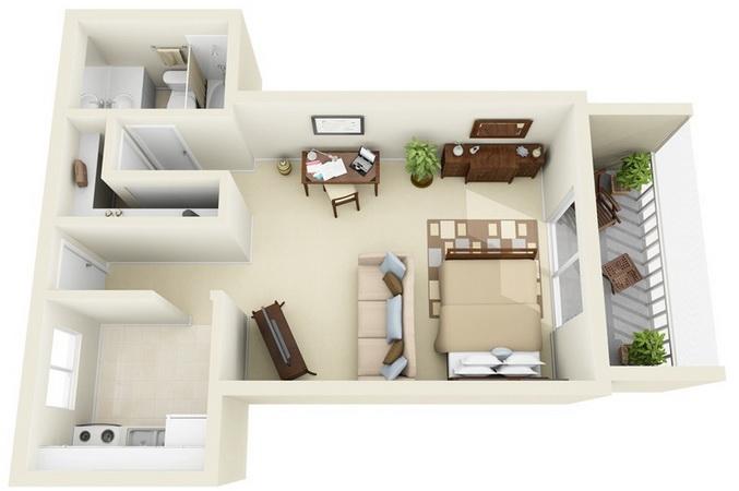 apartment-condo floor plan (24)