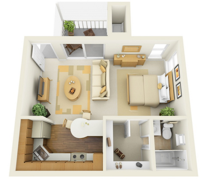 apartment-condo floor plan (26)