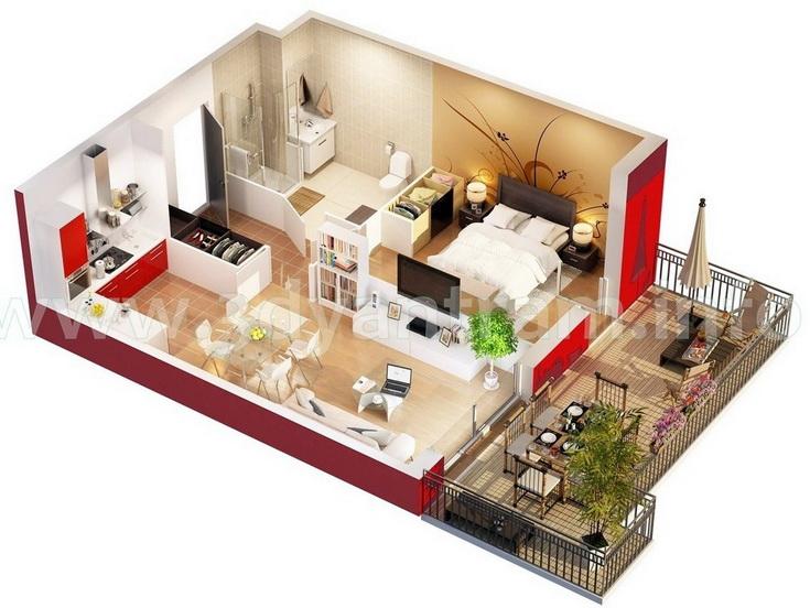 apartment-condo floor plan (28)
