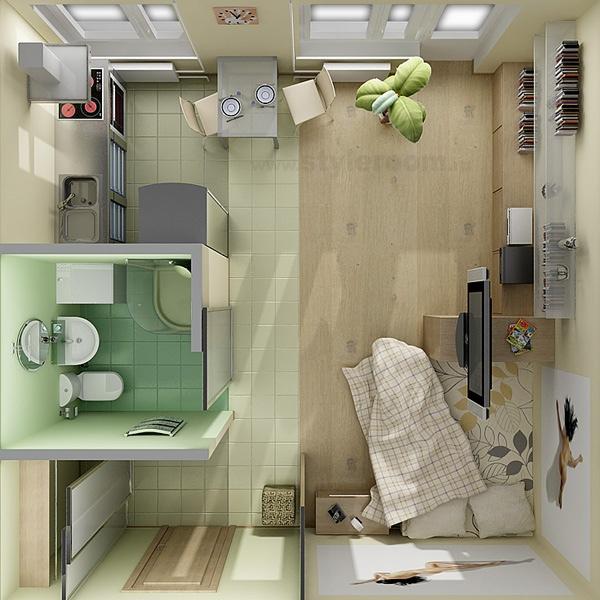 apartment-condo floor plan (3)