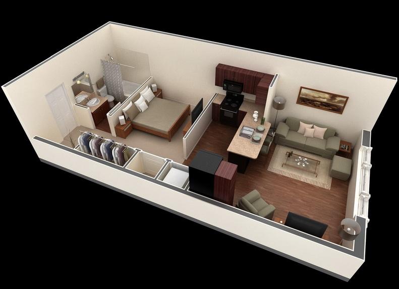 apartment-condo floor plan (32)