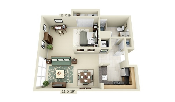 apartment-condo floor plan (4)