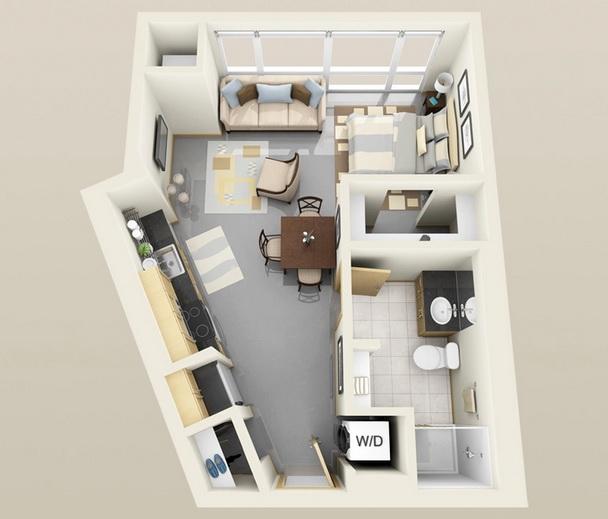apartment-condo floor plan (6)