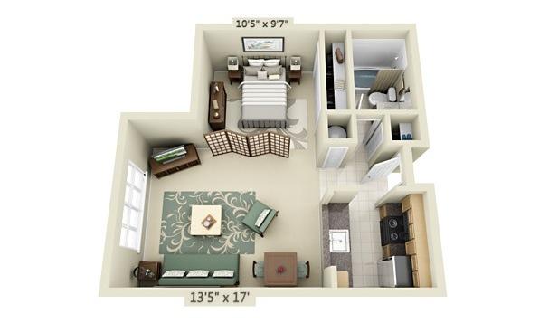 apartment-condo floor plan (7)