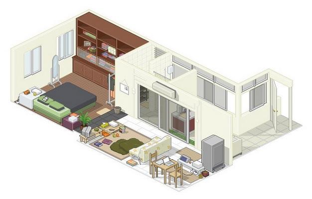 apartment-condo floor plan (9)