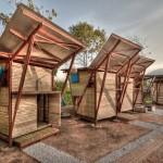บ้านคอทเทจไม้ไผ่ทรงสูง ดูเรียบง่าย และเป็นมิตรกับธรรมชาติ ในสไตล์ไทยๆ