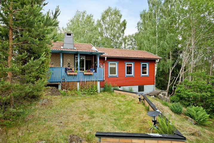 colorful cottage vintage house underneath nature atmosphere (13)