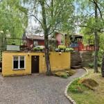 แบบบ้านกระท่อมสไตล์วินเทจ สีสันสดใส รื่นรมย์ไปกับบรรยากาศรอบๆบ้าน