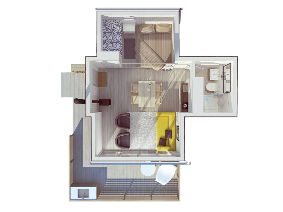 compact mobile white cottage (7)