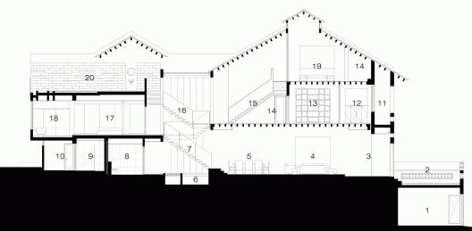 elegant contemporary house with koi pond (1)