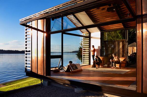 garage refurnished new style waterfront house (13)_resize