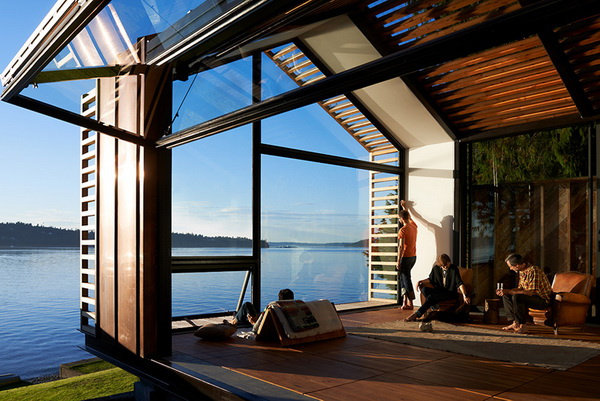 garage refurnished new style waterfront house (1)_resize