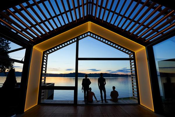 garage refurnished new style waterfront house (2)_resize