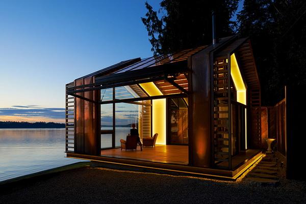 garage refurnished new style waterfront house (3)_resize