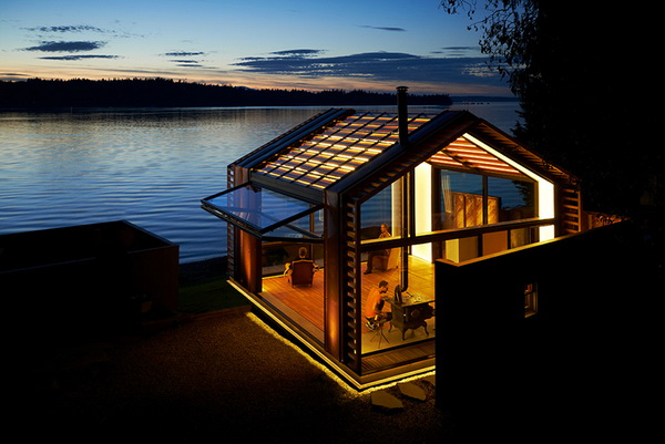 garage refurnished new style waterfront house (4)_resize