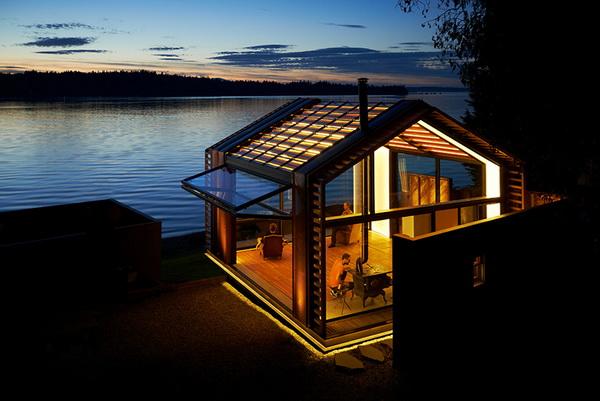 garage refurnished new style waterfront house (4)_resize