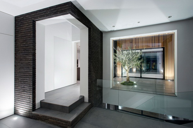 modern house under nature circumstance with zen garden (17)