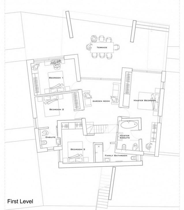 modern house under nature circumstance with zen garden (18)