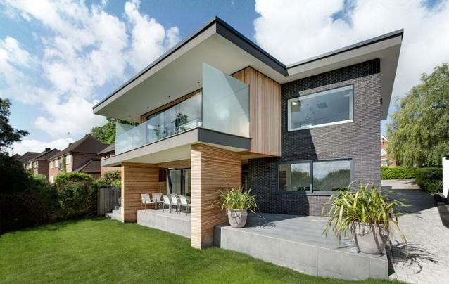modern house under nature circumstance with zen garden (3)