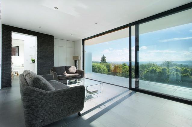 modern house under nature circumstance with zen garden (8)