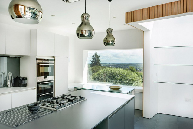 modern house under nature circumstance with zen garden (9)