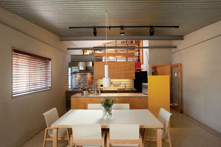 small modern loft house with zen garden (1)