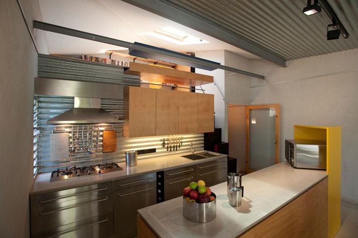 small modern loft house with zen garden (3)