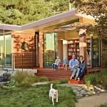บ้านไม้ทรงโมเดิร์น สวยงามและลงตัว เหมาะสำหรับครอบครัวรักธรรมชาติ