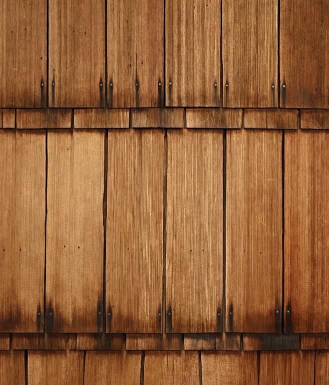 wooden modern house with water garden (8)