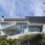 4249 House แบบบ้านสามชั้นแนวโมเดิร์น บนเทือกเขาร็อคกี้ในแคนาดา