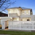 แบบบ้านสองชั้นสำหรับครอบครัวใหญ่ 6 ห้องนอนสไตล์ Contemporary
