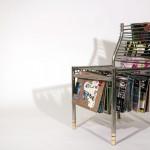 เก้าอี้แขวนนิตยสาร ไอเดียตกแต่งบ้านสไตล์โมเดิร์น จากคุณฮาน ลี