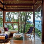 บ้านแนวชาวเกาะ ท่ามกลางธรรมชาติริมทะเลในบราซิล ไอเดียดีๆที่น่ายกย่อง