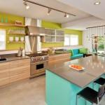 แต่งห้องครัวแบบฉีกกฎเดิมๆ เน้นสีสันสดใสเพื่อคุณลูกตัวเล็ก