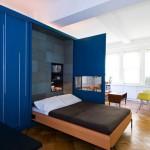 แนวทางแต่งคอนโดพื้นที่น้อย ด้วยตู้สารพัดประโยชน์ แปลงเป็นชั้นวางของและเตียงนอน