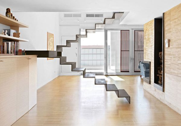 Fragile-appearance-of-this-floating-staircase-makes-it-a-scare-for-the-weak-hearted