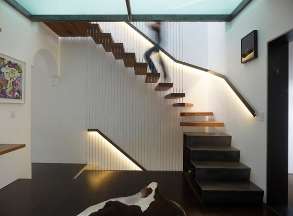 LED-lit-railing-illuminates-this-floating-stairway-gorgeously