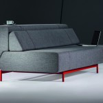 Pil-low โซฟาหรูพร้อมพนักพิงไล่ระดับ ปรับให้เป็นเตียงนอนได้อย่างง่ายดาย